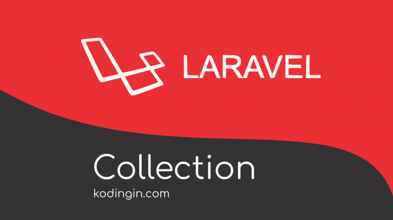 Tutorial menggunakan Collection pada Laravel
