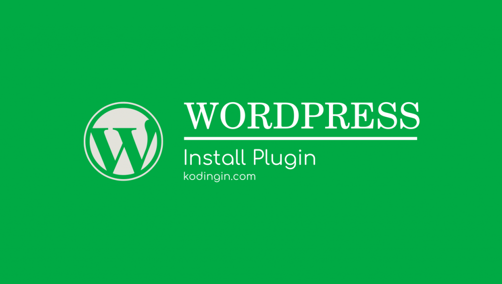 Cara Install Plugin Baru di WordPress